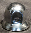 ●新基準 ISOホイール用  特価 ステンメッキナットキャップ 単品 33mm/高さ46mm