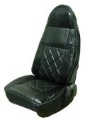 黒豹(ブラックパンサー)シートカバー/クロコ 4t車用【助手席】