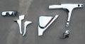 メッキミラーアーム根元カバー6点 (ハイルーフ用) スーパーグレート 2000(前・後期)/07スーパーグレート/17スーパーグレート