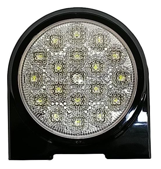 LED丸型バックランプ(後退灯) VS-L141VW+VS-L3D  【12V・24V共用】車検対応品