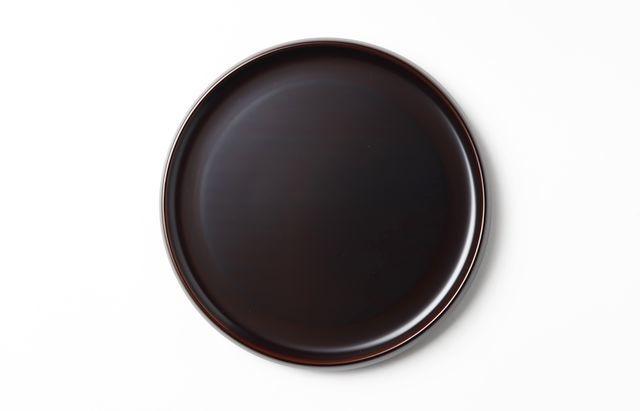 岩舘隆(浄法寺) 高台5.5寸皿(溜)
