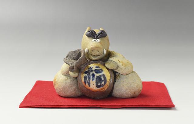 長ぶき窯 干支 亥(予約品)