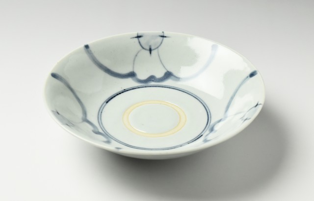 藤塚光男 花弁割文6寸鉢