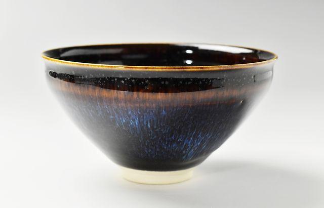 大覚寺窯 天目茶碗