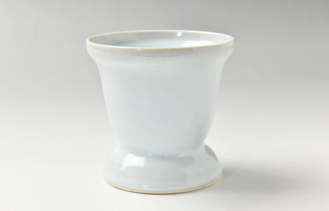 大覚寺 焼酎カップ月白釉