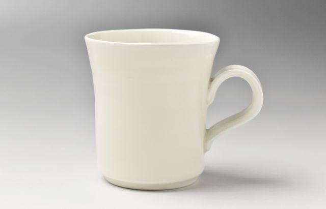 松本良夫 白磁マグカップ