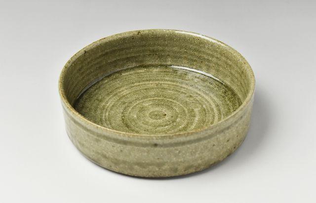 古賀雄二郎 灰釉銅鑼鉢5寸