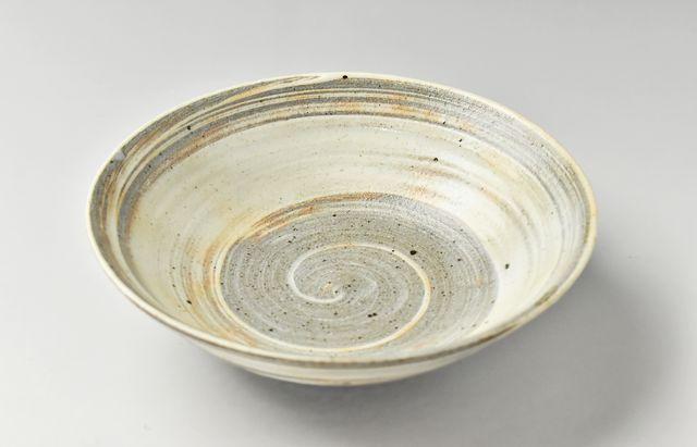 古賀雄二郎 刷毛目平鉢(5.5寸)