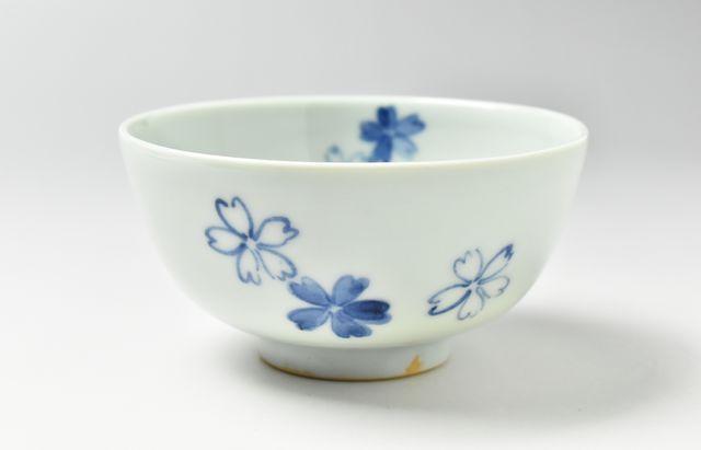 須谷窯 桜文碗(小)