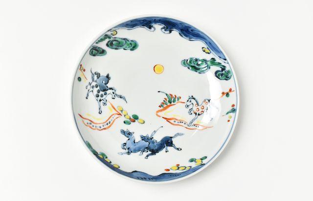 須谷窯 飛馬の皿