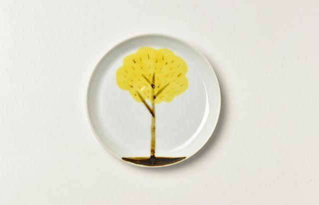 岡本修 レモンの木の小皿