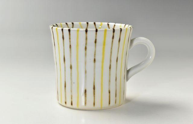 岡本修 黄茶麦マグカップ