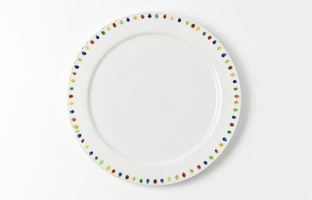 岡本修 色絵8寸ステーキ皿