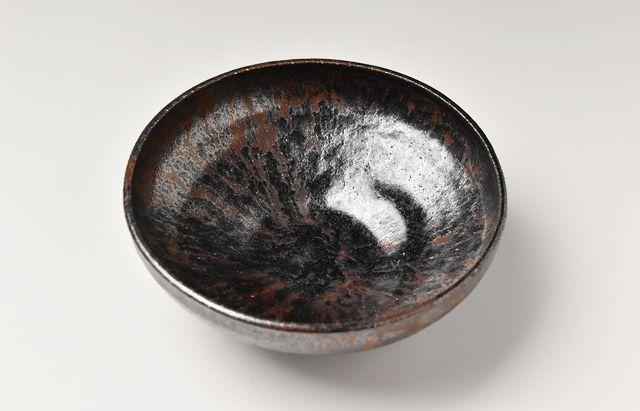 吉田学 鉄釉5寸鉢