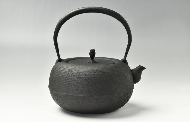 釜定 鉄瓶No.171新姥口糸目