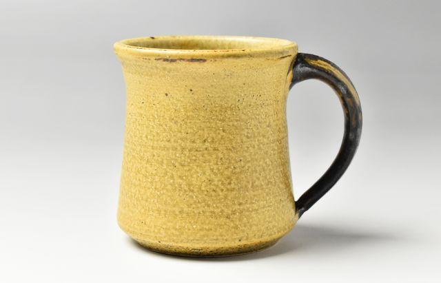 杉本寿樹 黄瀬戸モーニングカップ