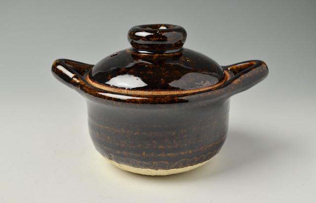 杉本寿樹 アメ釉かゆ小鍋