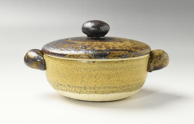 杉本寿樹 黄瀬戸ロール土鍋