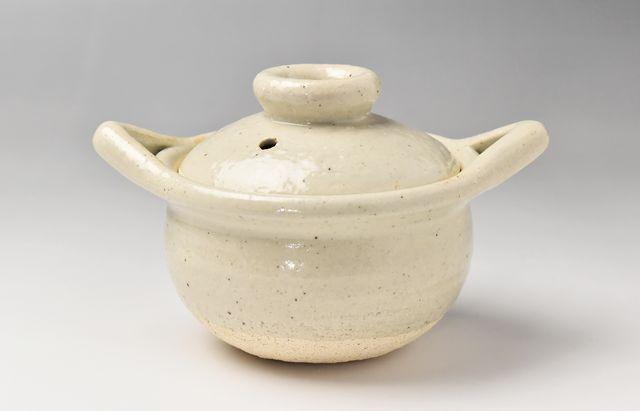 杉本寿樹 長石釉小粥鍋