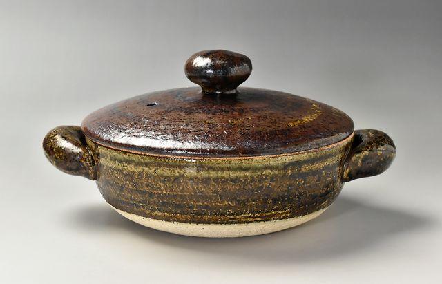 杉本寿樹 鉄彩ロール鍋(7寸)