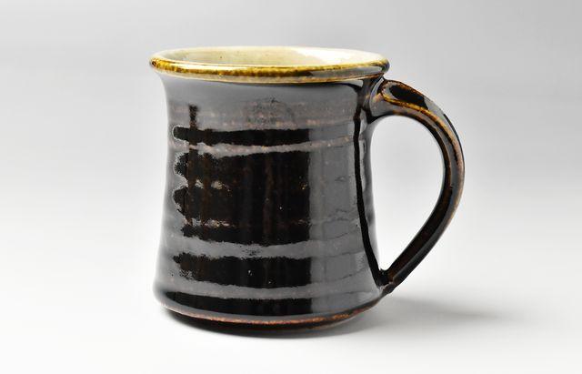 杉本寿樹 飴釉モーニングカップ【H】