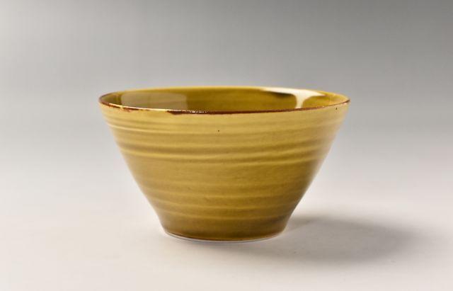 阿部春弥 黄磁小鉢