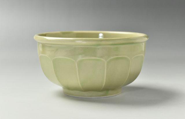 阿部春弥 もえぎ面取5寸丸鉢