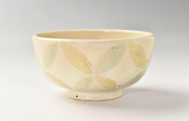 小川佳子 飯碗 釉彩七宝紋