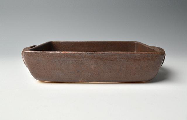 小川佳子 角オーブンパン(L)茶