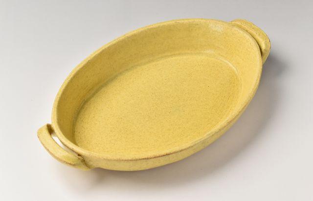 小川佳子 楕円オーブンパン(L)黄