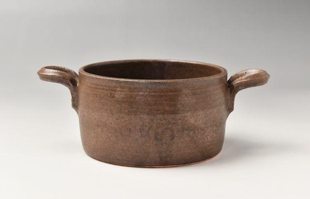 小川佳子 丸オーブンパン 深(S)茶