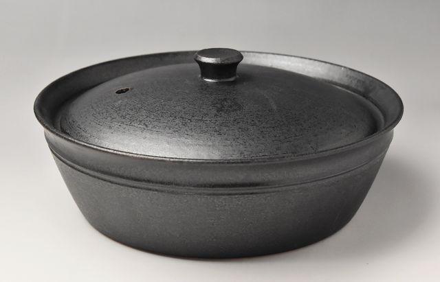 小川佳子 キャセロール(L)黒