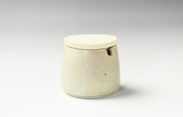小川佳子 薬味入 円錐(緑)