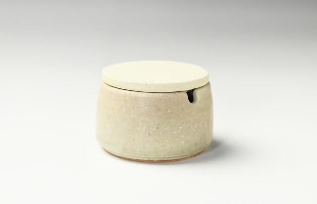 小川佳子 薬味入 円柱(緑)