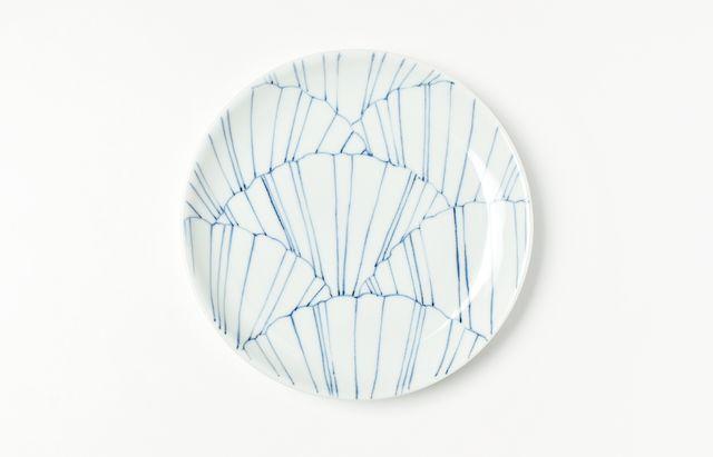 【2020年以降入荷予定】日下華子 イチョウ5.5寸皿