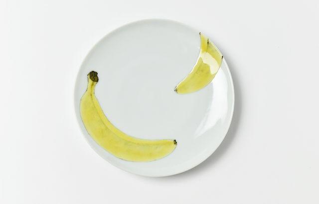 日下華子 ◆ばなな5寸皿