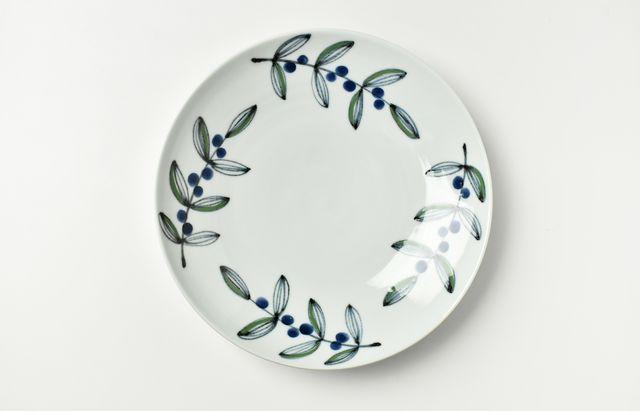 日下華子 葉と実7.5寸皿