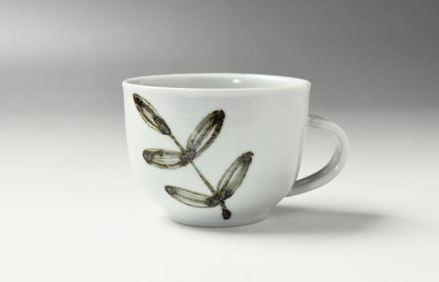日下華子 鉄葉ちらしコーヒーカップ