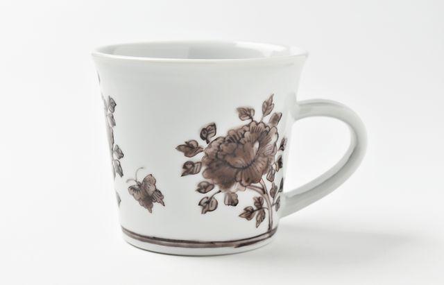 山本恭代 紫色マグカップ