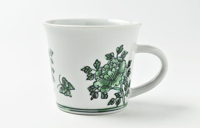 山本恭代 ◆緑色マグカップ