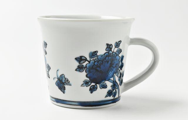 山本恭代 ◆青色マグカップ