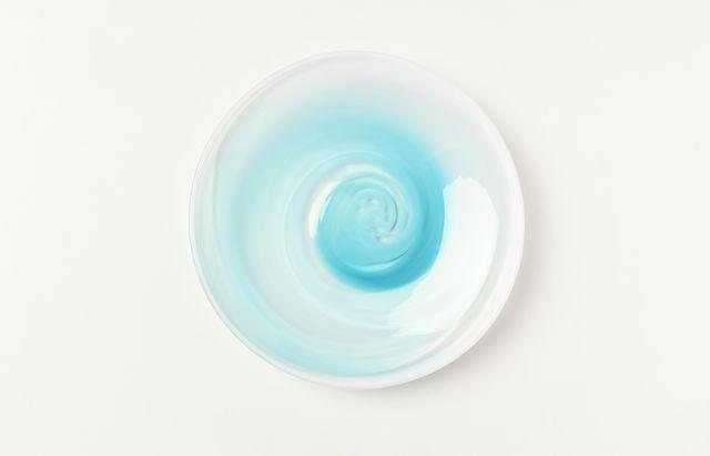 河上智美 ターコイズ5.5寸皿