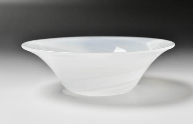河上智美 オパール5寸反り鉢
