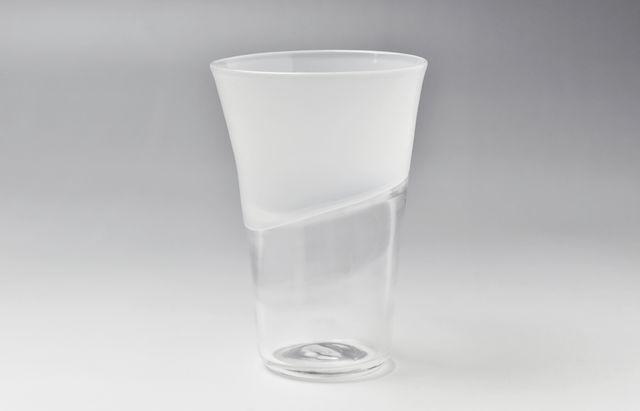 河上智美 Wave Glass Long (オパール)