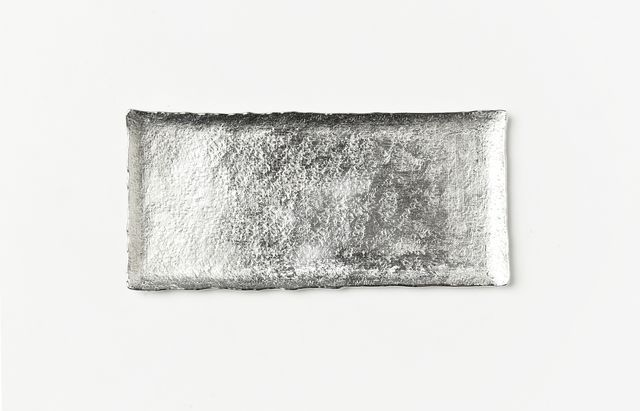 ささきりえ 錫トレー(120×55)