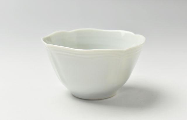 稲村真耶 白磁フレアカップ【H】