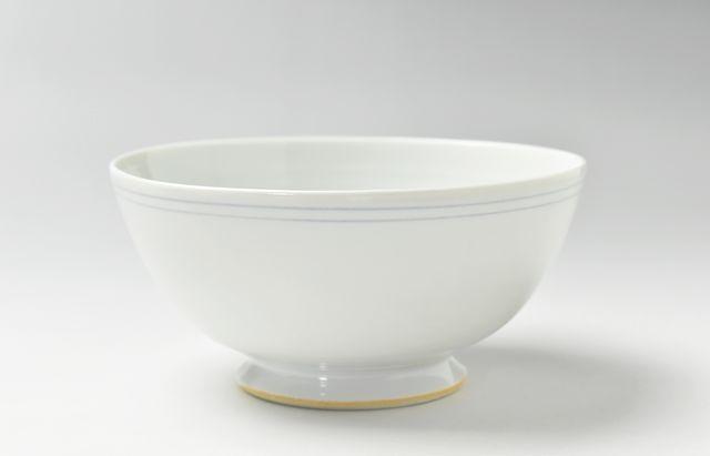 稲村真耶 フルーツボウル(乳白釉)