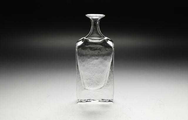 西山芳浩 角小瓶(大)