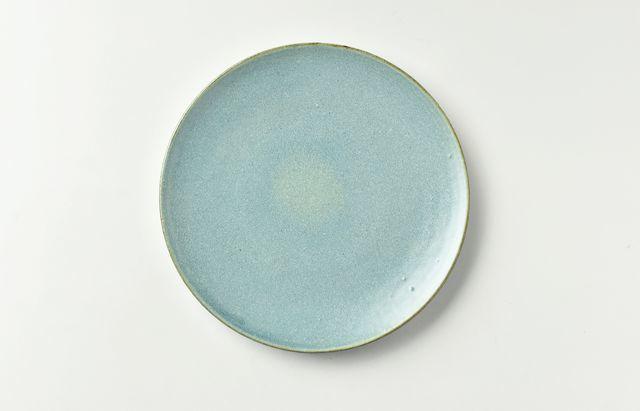 土井康治朗 せとうちブルー6寸皿