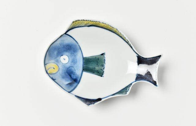 中荒江道子 鯛小皿